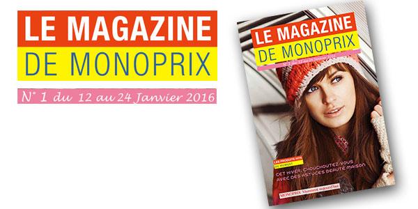 Découvrez le nouveau magazine de Monoprix