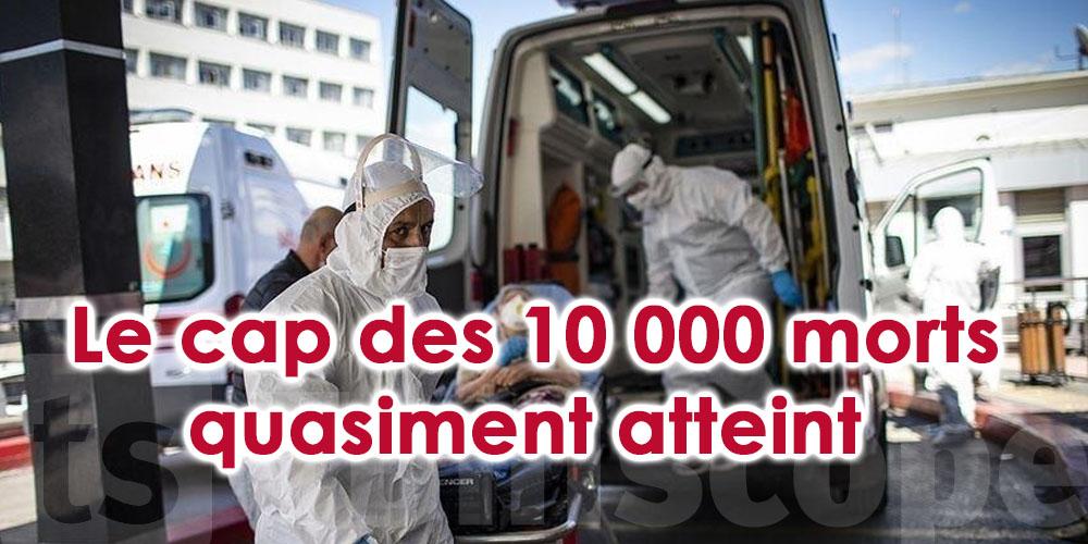 Le cap des 10 000 morts quasiment atteint