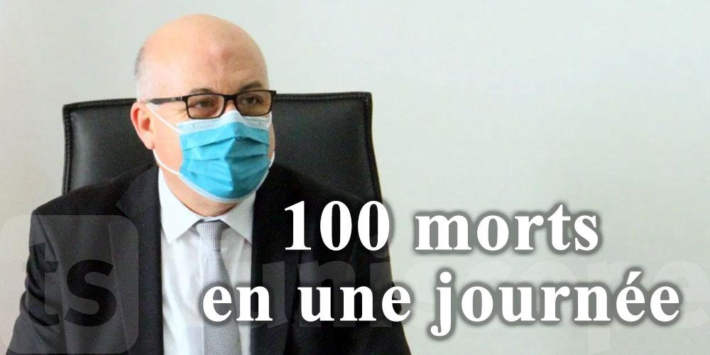 Nouveau record de décès, 100 morts en une journée