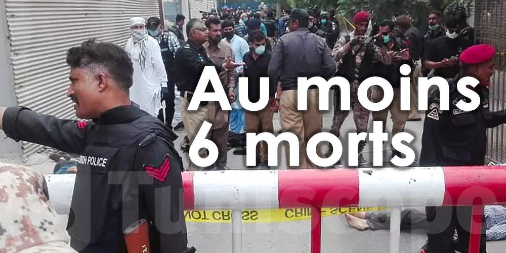 Au Pakistan, une attaque contre la Bourse de Karachi fait au moins 6 morts