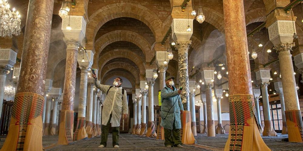 إعادة فتح المساجد مع تطبيق صارم للبروتوكول الصحي