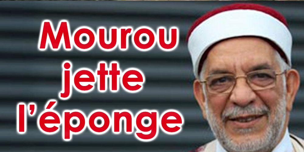 Abdelfattah Mourou jette l'éponge