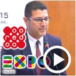 En vidéo : Mousser Jerbi présente le partenariat d'Ooredoo pour le pavillon de la Tunisie à Expo Milano 2015