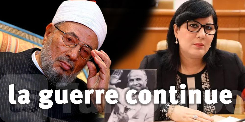 Moussi menace d'organiser un sit-in devant le bureau l'Union des Savants Musulmans