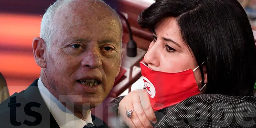 عبير موسي : سعيّد لا يريد الذهاب إلى الإنتخابات خوفًا من فوز الدستوري الحرّ