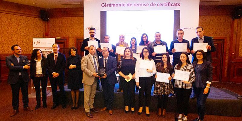 Clôture du projet Moustakbali 2.0 de la EFE Tunisie avec la fondation Drosos<