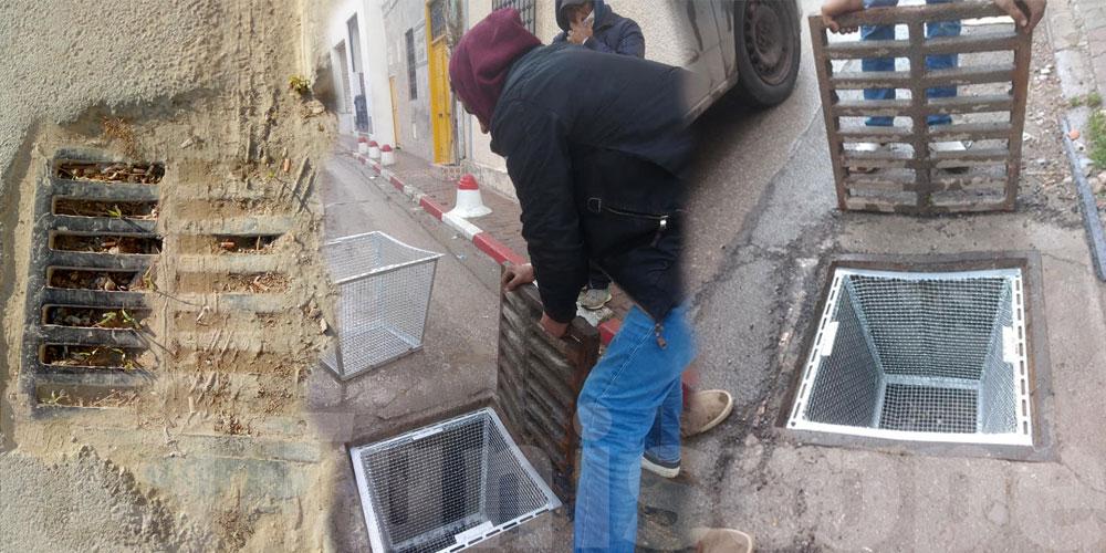A la Marsa, on a trouvé le moyen d'empêcher les ordures de finir dans les égouts