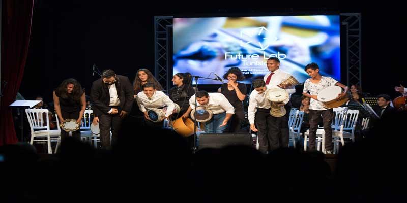 Concert à Brême, en Allemagne, dans le cadre du projet Future Lab tunisia