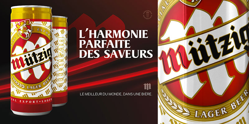 Lancement d'une nouvelle bière en Tunisie, la Mützig