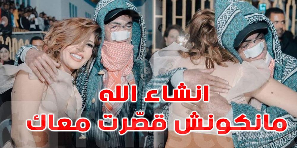 زازا تتالّم لموت موفّق بن حميدة