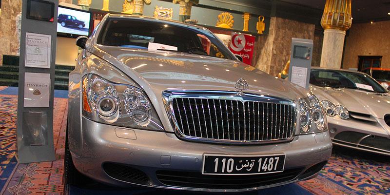 En vidéo : La Maybach de Ben Ali et 10 autres voitures du Clan à vendre