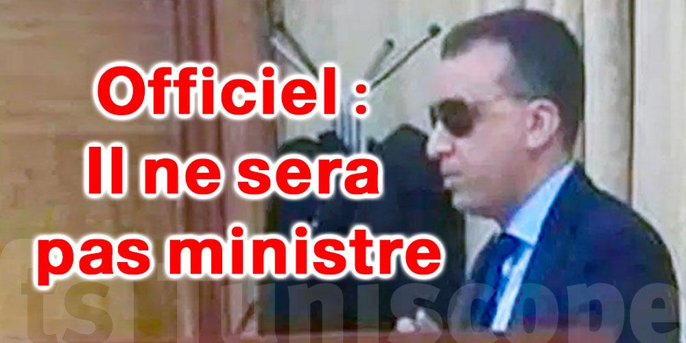 Hichem Mechichi remplace Walid Zidi