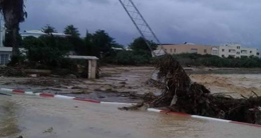 توقعات بتهاطل امطار غزيرة الليلة بولاية نابل