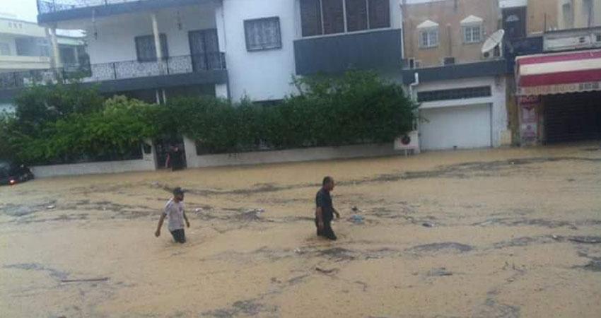 نابل :تسجيل أضرار كبيرة بالبنية التحتية وبممتلكات المواطنين