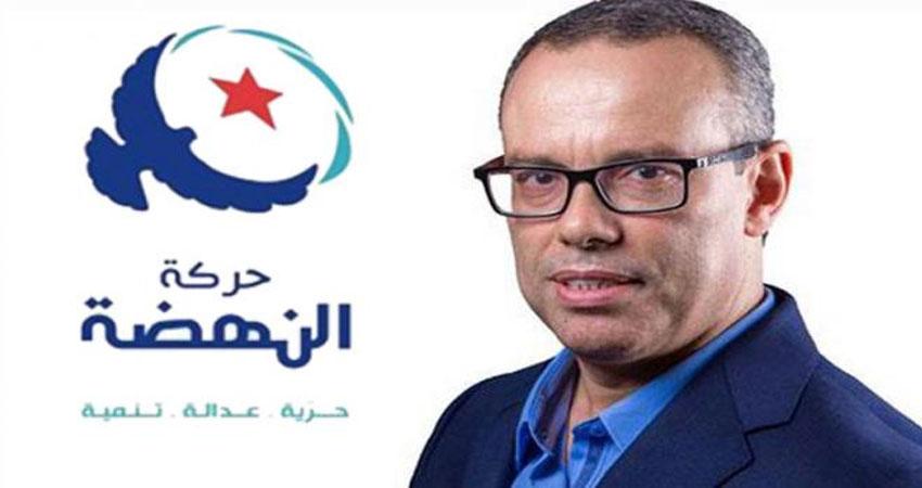 عماد الخميري يؤكد تمسك النهضة بعلاقة إيجابية مع رئيس الجمهورية