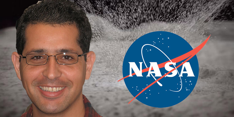 Le Tunisien Mehdi Benna découvre des fontaines d'eau sur la Lune