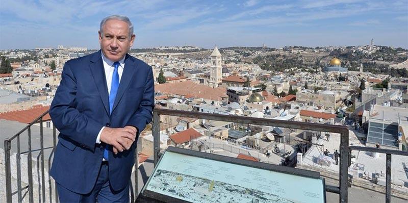 نتانياهو: السفارة الأميركية ستنتقل للقدس خلال عام