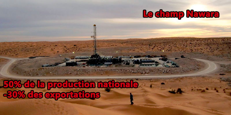 Le champ de gaz naturel Nawara entre en production