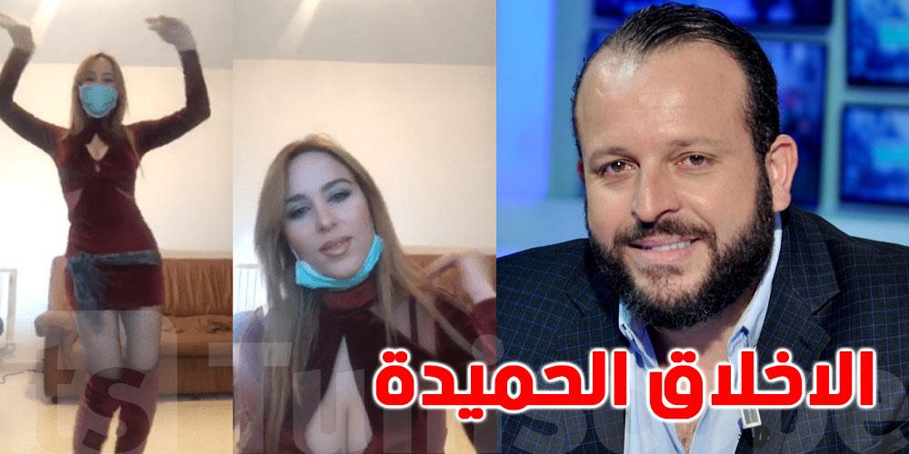 قضية ضدّها بتهمة الاعتداء على الاخلاق الحميدة.. بن صالحة محامي نرمين صفر