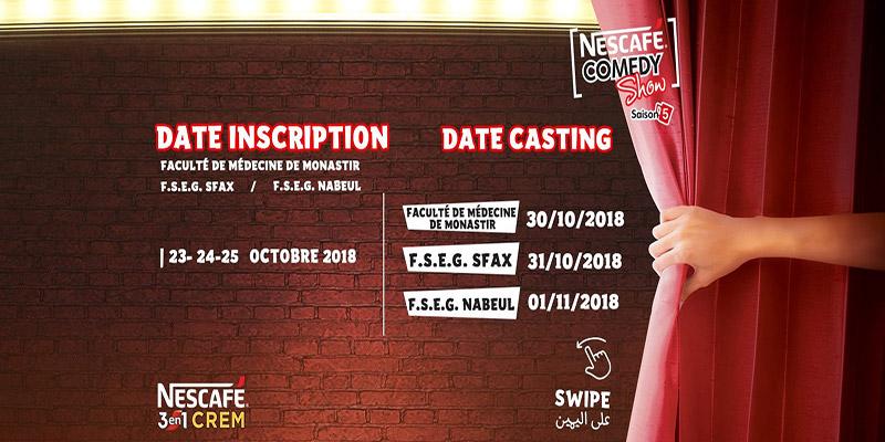 Nescafé comedy show , saison 5