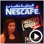 En vidéo : Dem El Farh, le One-woman-show de la grande gagnante du Nescafé Comedy Show 'Lobna Sediri'