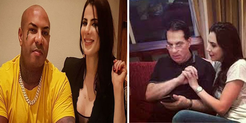 صور: كادوريم يُقبّل ابنة بن علي ويُثير الجدل
