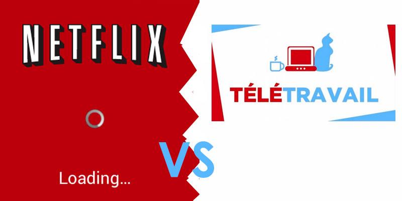 Vers une limitation de l'accès à Youtube et Netflix par les opérateurs en France au profit du télétravail