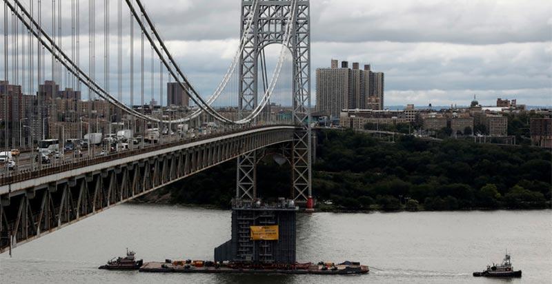 نيويورك: إغلاق جسر جورج واشنطن بسبب تهديد ''قنبلة''