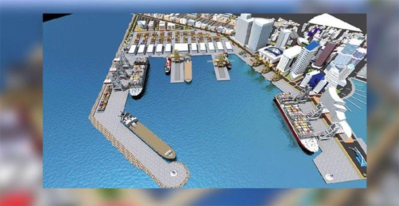 Démarrage des travaux de construction du port d'Enfidha en décembre 2019