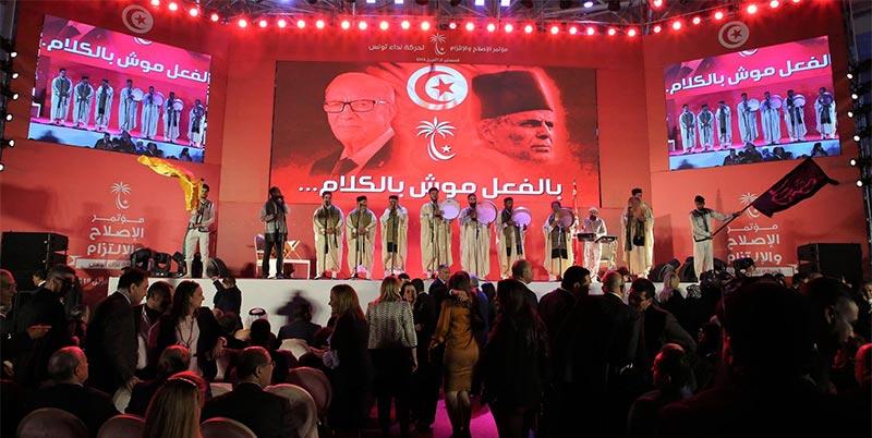 الباجي قائد السبسي: '' نداء تونس مش حْزَّيِب كيف الحْزَّيْبات الاخرى''