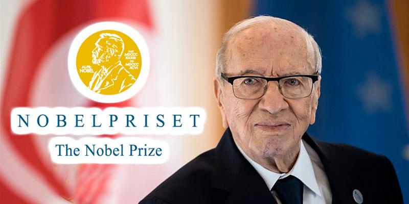 Ce qu'avait écrit Beji Caid Essebsi au Comité Nobel en 2015