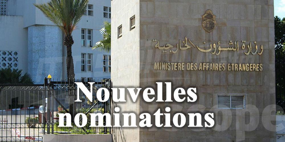 5 nouvelles nominations au ministère des Affaires Etrangères
