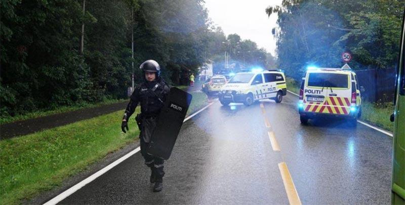 مسلح يسرق سيارة إسعاف ويدهس عددًا من الأشخاص في النرويج
