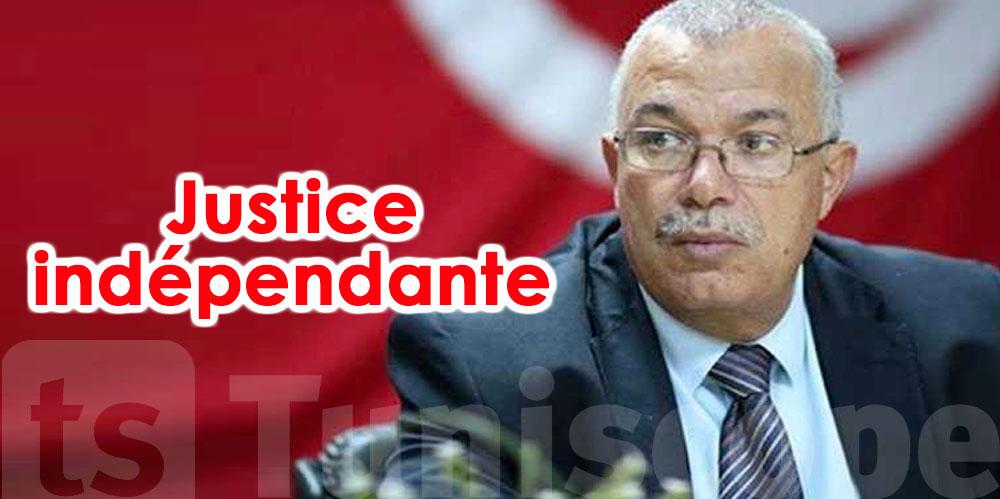 Noureddine Bhiri : Nous nous félicitons d'avoir une Justice indépendante