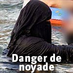 La Goulette : Une jeune femme a risqué la noyade à cause de son niqab !