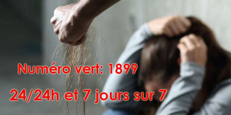 Violence contre les femmes, le numéro vert 1899 fonctionnel 24h/24 et 7 jours sur 7
