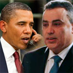 اتصال هاتفيّا بين مهدي جمعة و باراك أوباما