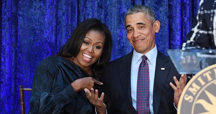 رسميًا نتفليكس تتعاقد مع أوباما و ميشيل