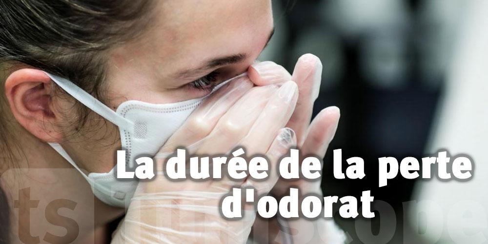 Une étude précise la durée de la perte d'odorat due au Covid-19