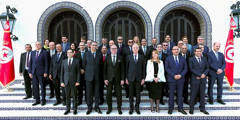 الصورة الرسمية لحكومة إلياس الفخفاخ