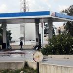 Incendie au niveau de la station Oil Libya Charguia