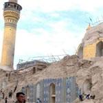 داعش يفجّر مسجد عمر بن الخطاب في الأنبار