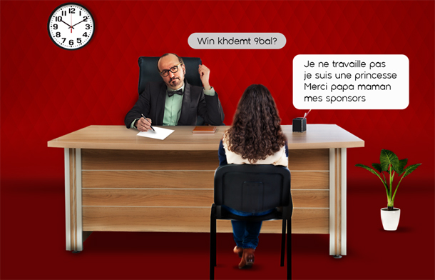 Si les gens parlaient comme sur internet by Ooredoo