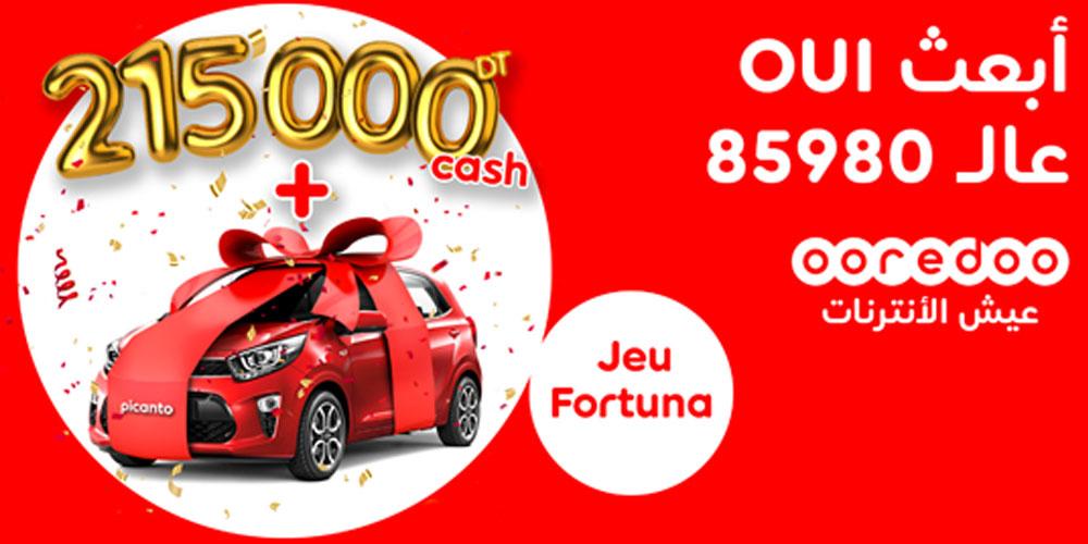 Mega Quizz FORTUNA : 215 000TND et une voiture à gagner