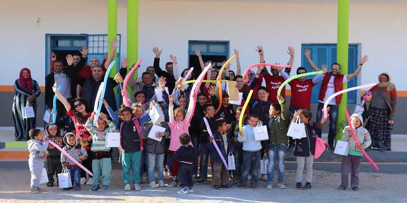Grâce à Ooredoo El Khir, des écoliers de Sidi Bouzid et Gafsa étrennent leurs écoles rénovées