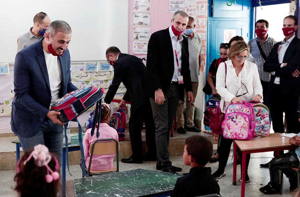 À Béja, Ooredoo Tunisie honore la volonté et la persévérance des petits écoliers