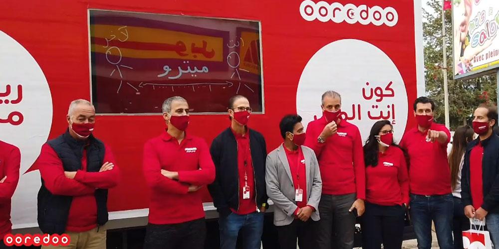 En vidéo : Ooredoo réussit à atteindre 24 gouvernorats durant sa campagne de sensibilisation contre la propagation du Covid-19