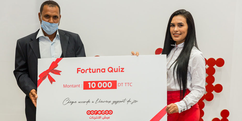 Ooredooتكرّم المجموعة الثانية من الفائزين بمسابقة Fortuna Quiz