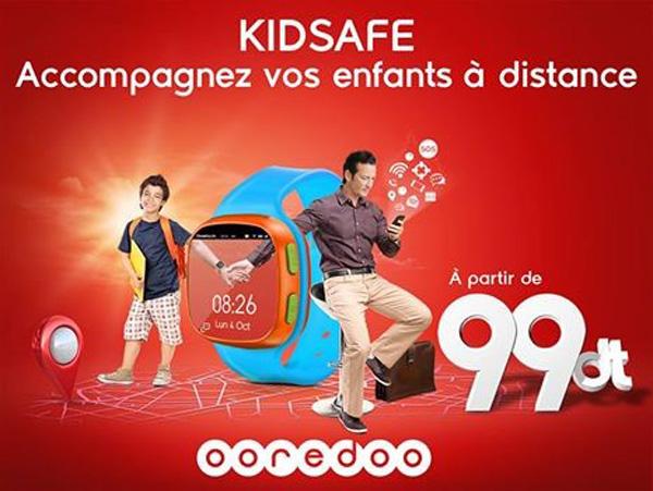 Ooredoo Tunisie lance la première Montre Connectée pour enfants Kidsafe.
