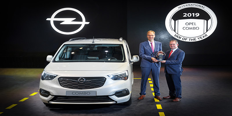 Le nouvel Opel Combo élu International Van of the Year 2019